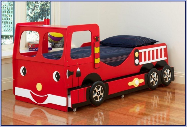 Kidkraft Firetruck Toddler Bed