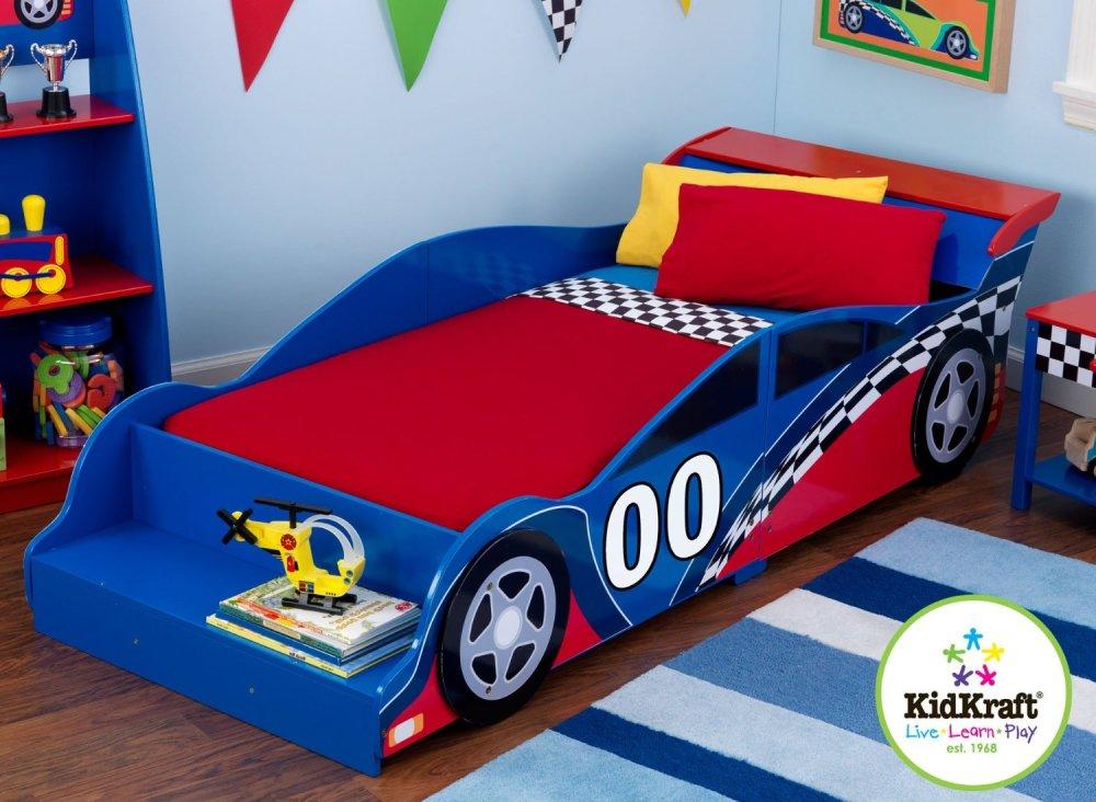 Kidkraft Racecar Toddler Bed 76038