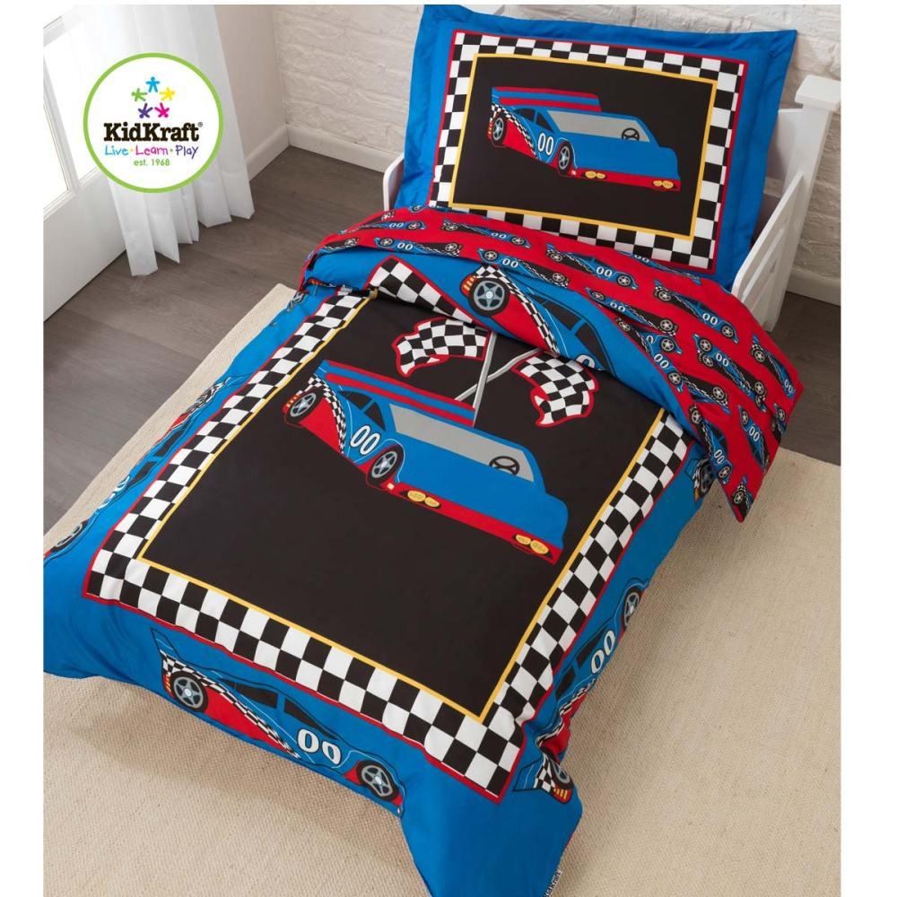 Kidkraft Racecar Toddler Bedding 77005