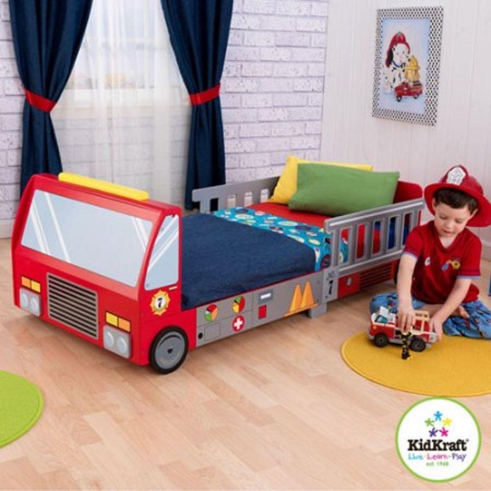Kidkraft Toddler Fire Truck Bedding