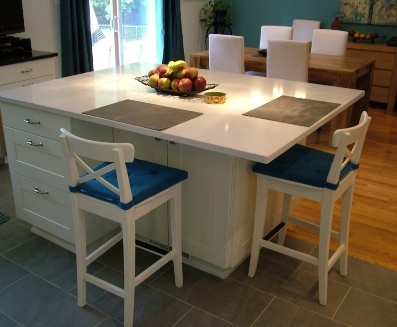 Kitchen Island With Bar Stools Ikea