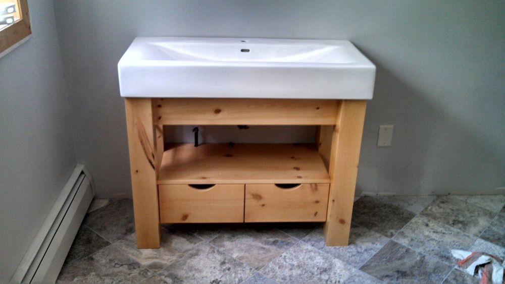 Knotty Pine Medicine Cabinet For Bathroom