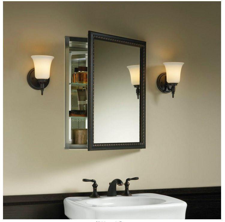Kohler Recessed Mirrored Medicine Cabinet