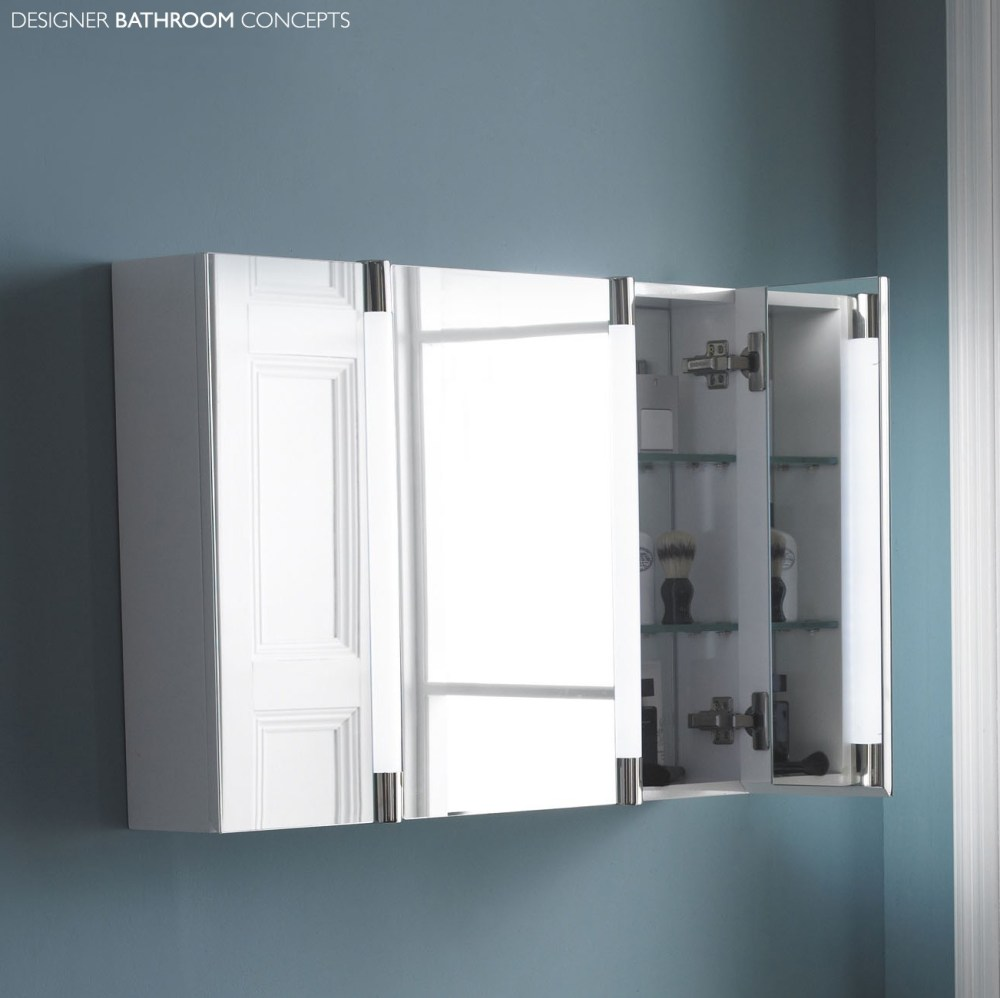 Large Bathroom Mirrored Medicine Cabinets