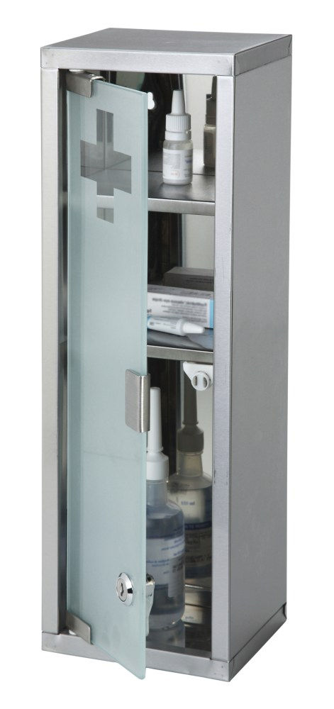 Large Lockable Medicine Cabinet