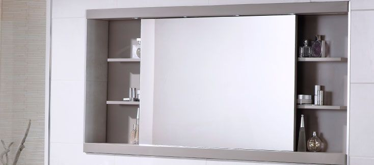 Large Sliding Door Medicine Cabinet