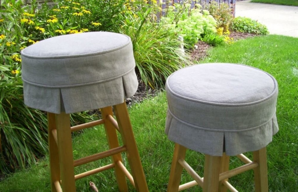 Leather Bar Stool Cushions