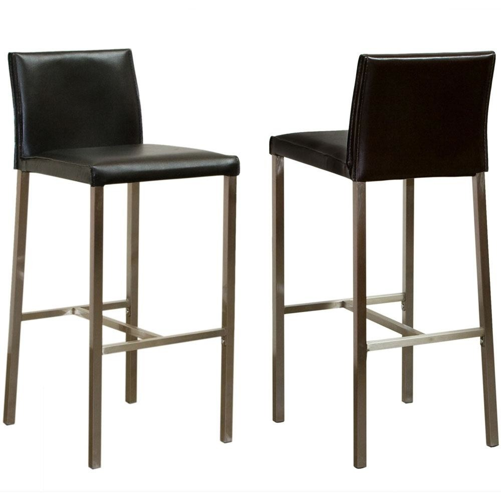 Leather Bar Stools With Armrest