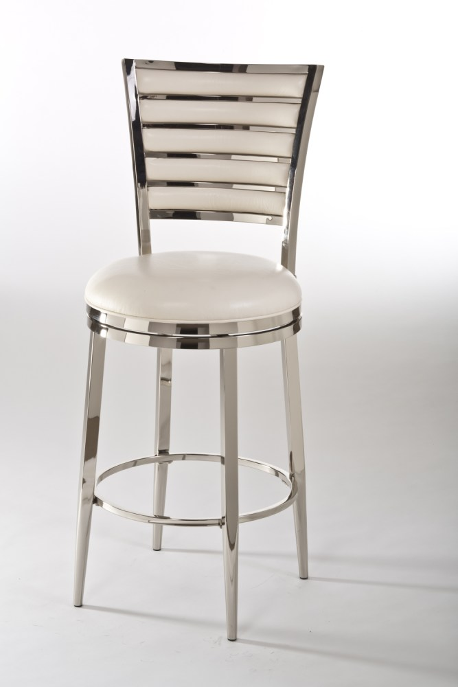 Leather Bar Stools With Backs That Swivel