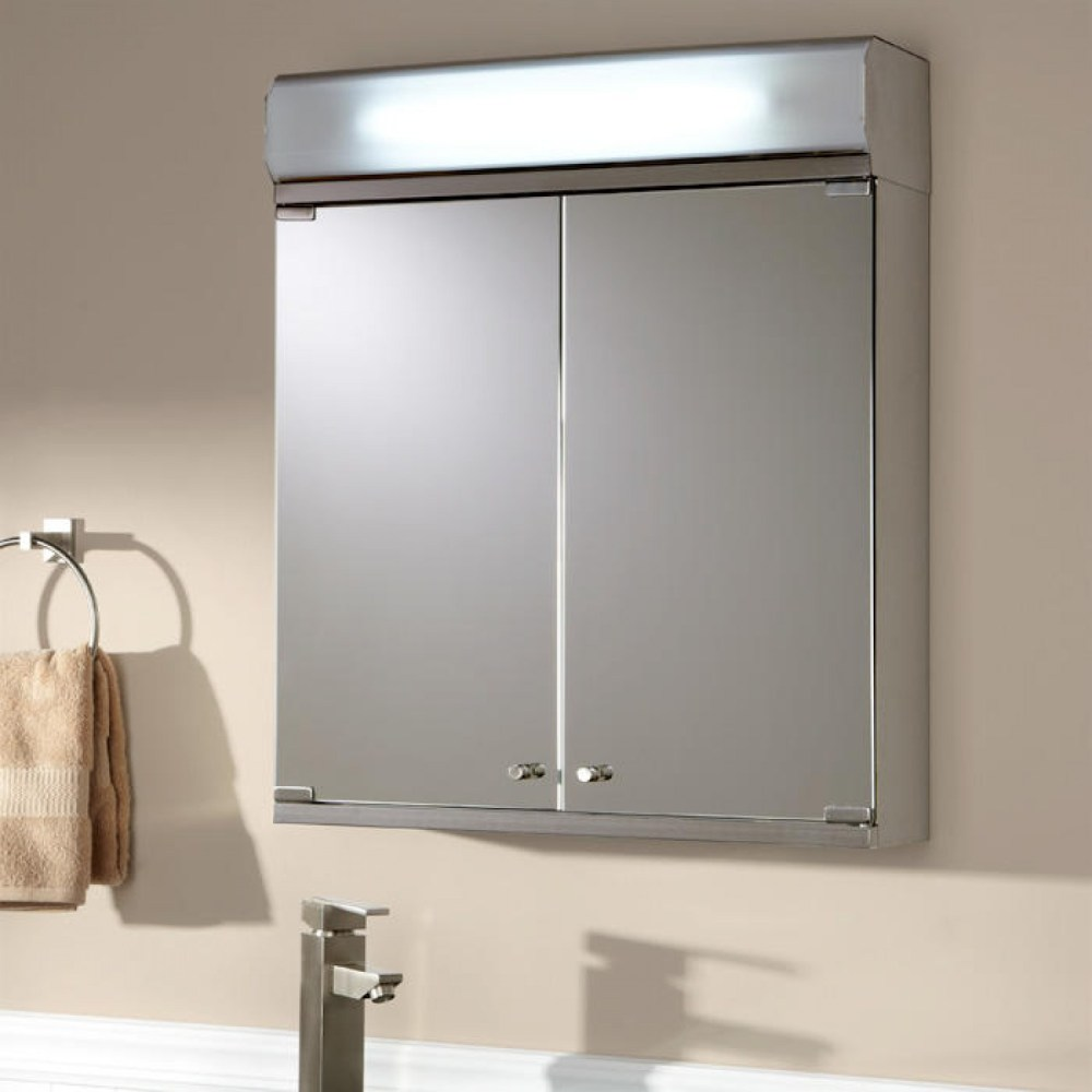 Lighted Medicine Cabinets Recessed
