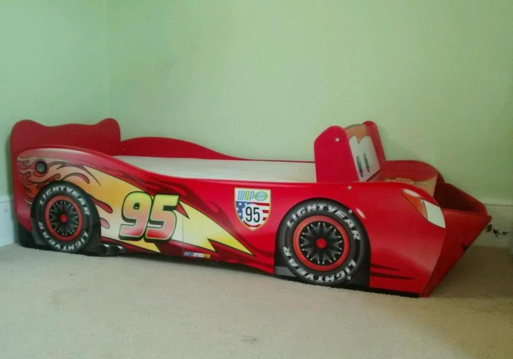 Lighting Mcqueen Toddler Bed