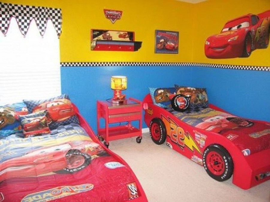 Lightning Mcqueen Toddler Bed Set