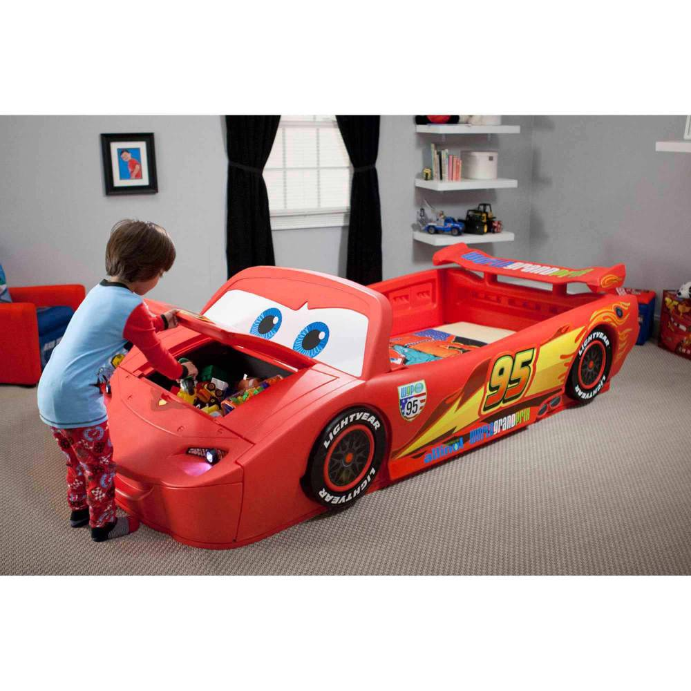 Lightning Mcqueen Toddler Bed Stickers
