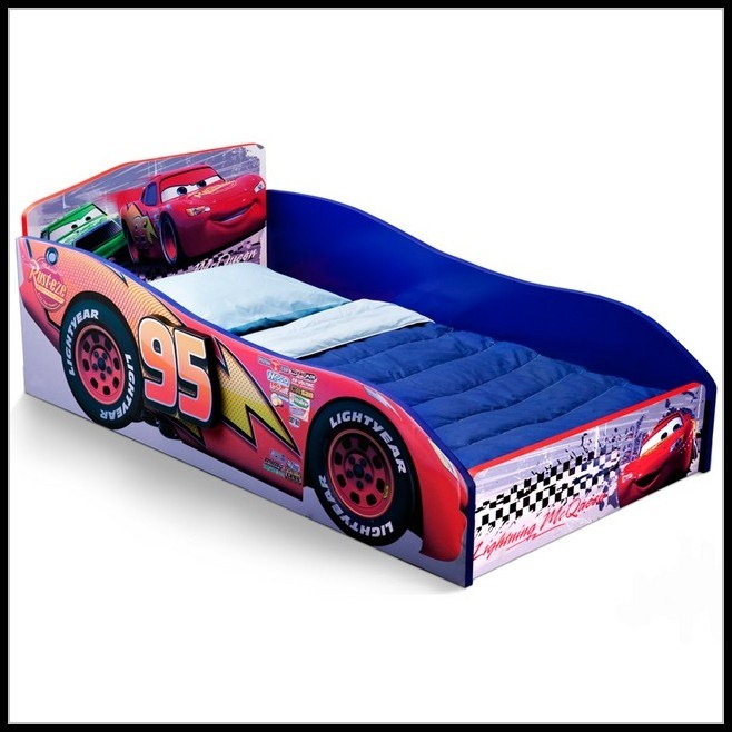 Lightning Mcqueen Toddler Bed Target