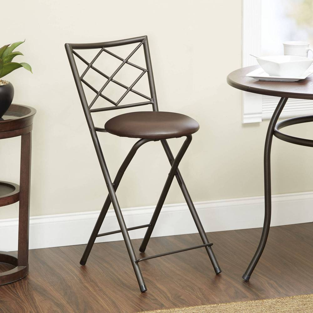 Linon Folding Bar Stools