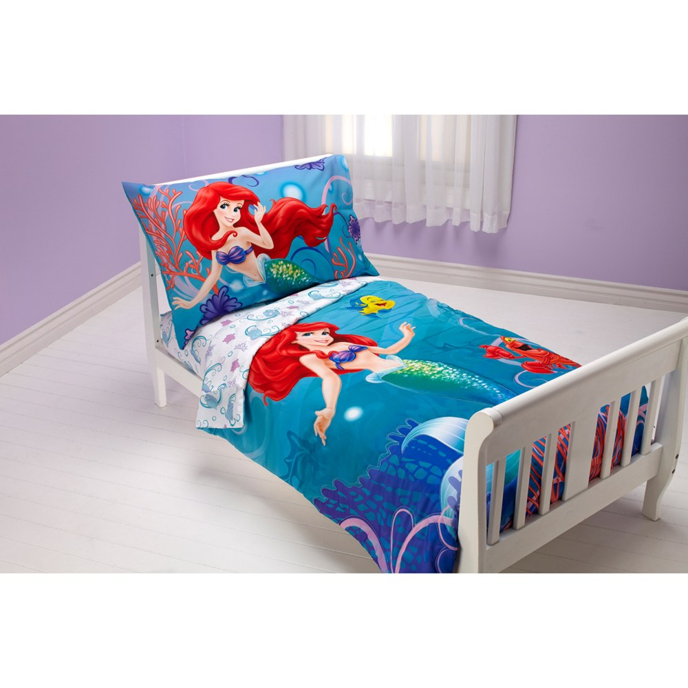 Little Mermaid Toddler Bedding Walmart