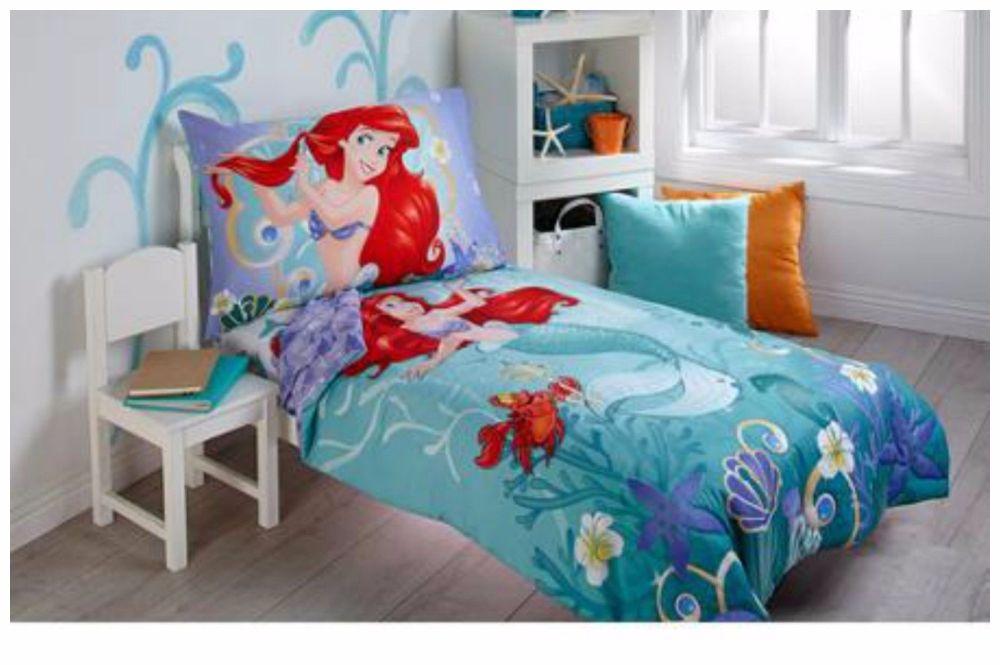 Little Mermaid Toddler Bedroom Set