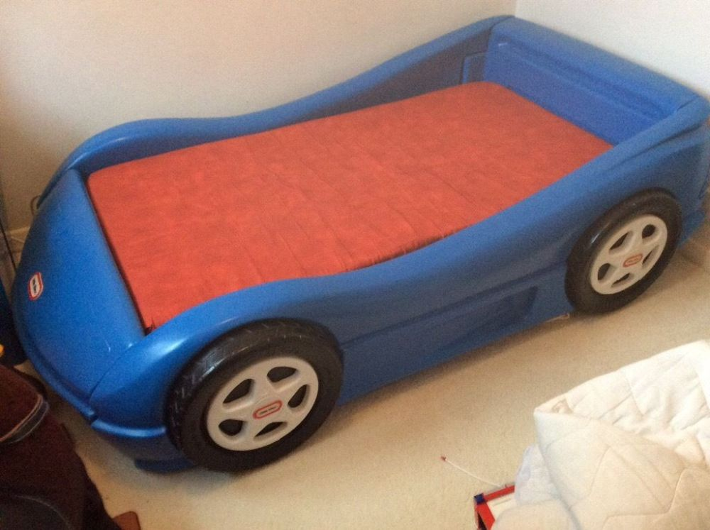 Little Tikes Blue Car Toddler Bed