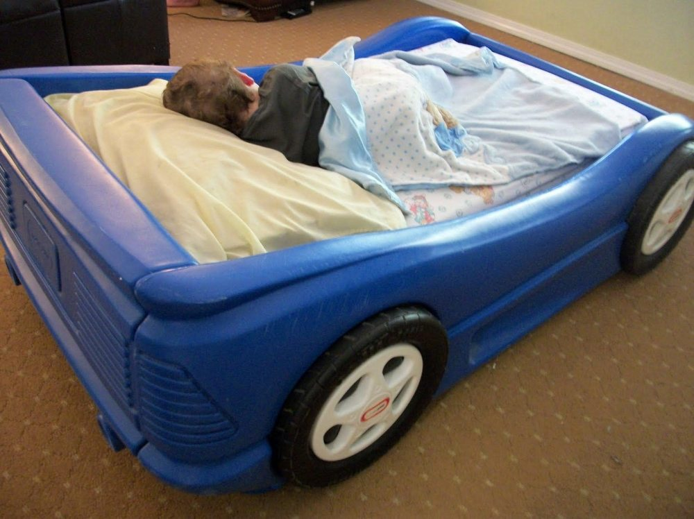 Little Tikes Car Bed Toddler Dimensions