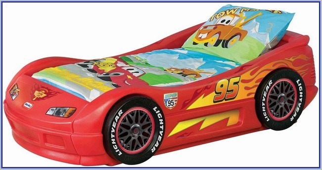 Little Tikes Lightning Mcqueen Toddler Bed