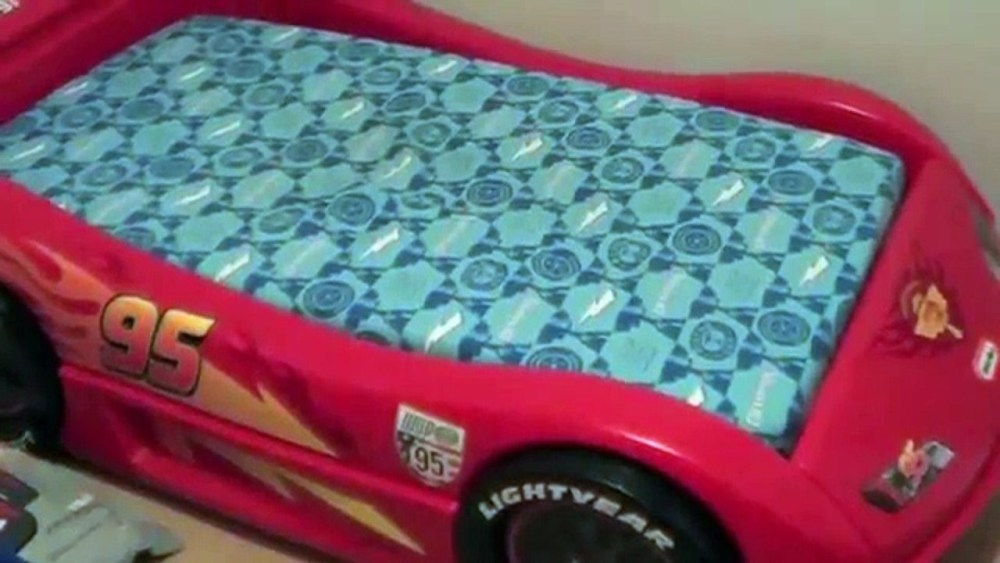 Little Tikes Race Car Toddler Bed Assembly