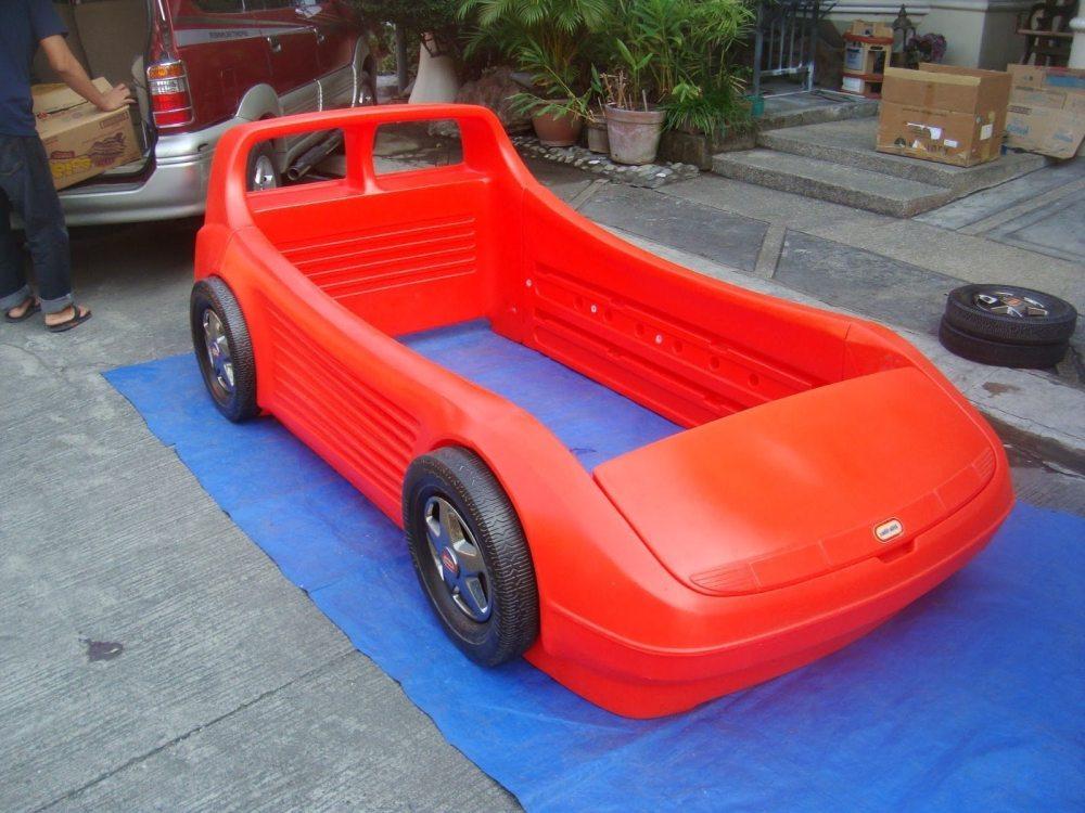 Little Tikes Race Car Toddler Bed Ebay