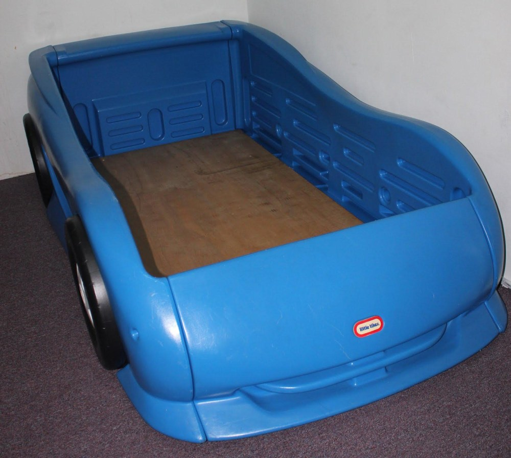 Little Tikes Toddler Bed Car Blue