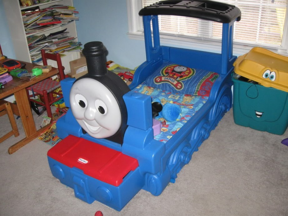 Little Tikes Toddler Bed Thomas
