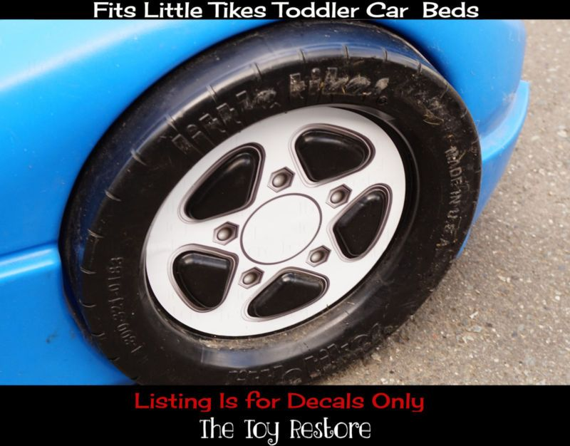Little Tikes Toddler Car Bed Stickers