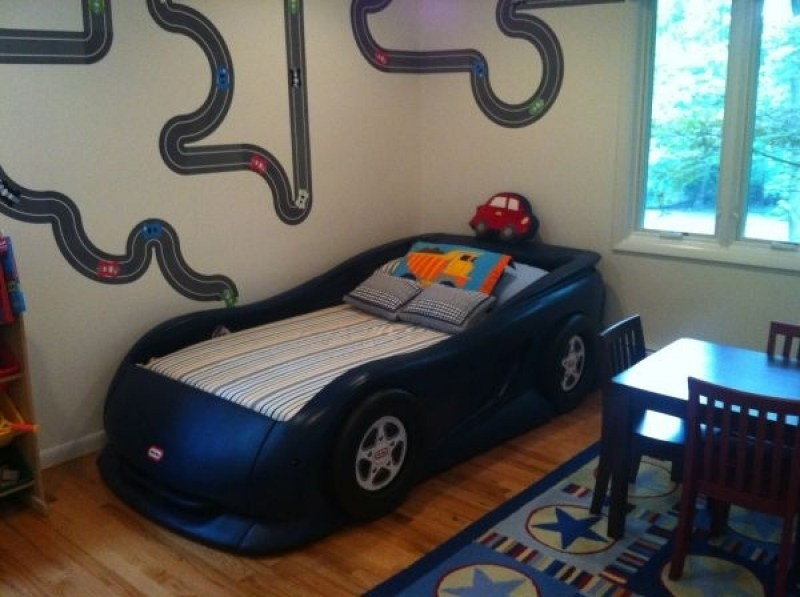 Little Tikes Toddler Size Race Car Bed
