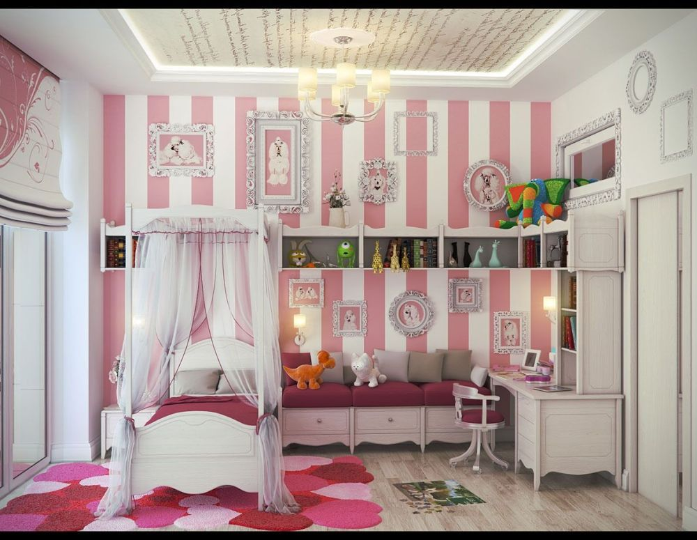 Little Toddler Girl Bedroom Ideas