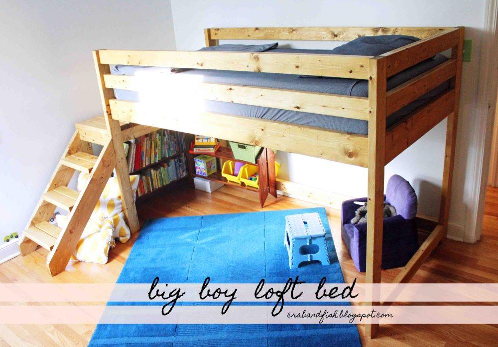 Loft Bed For Toddler Boy