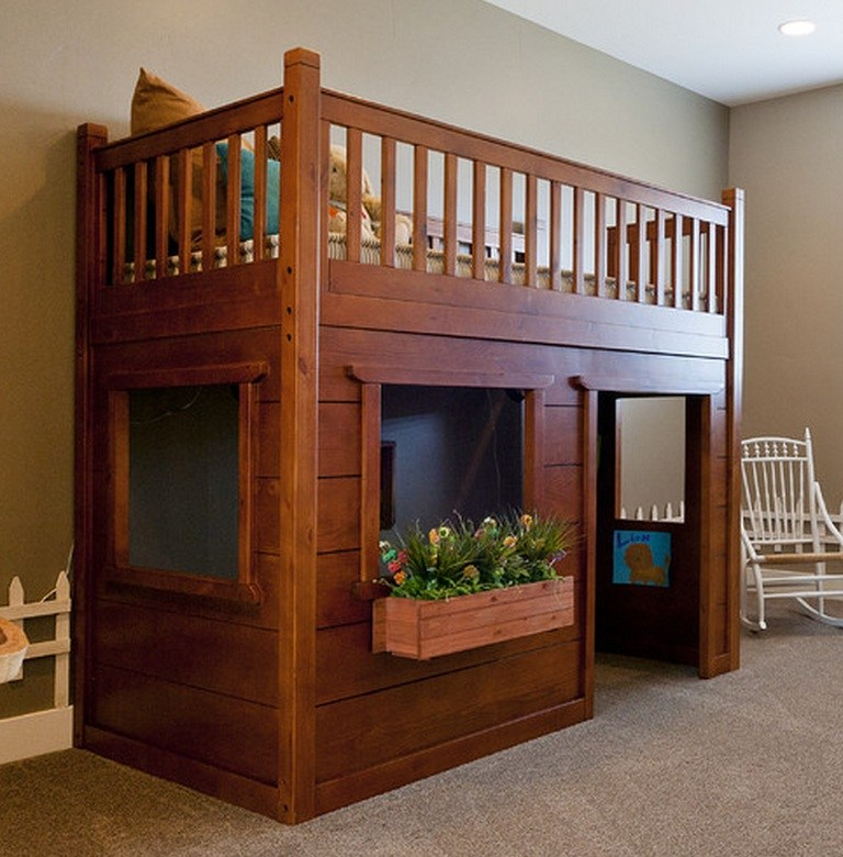 Loft Bed With Toddler Mattress