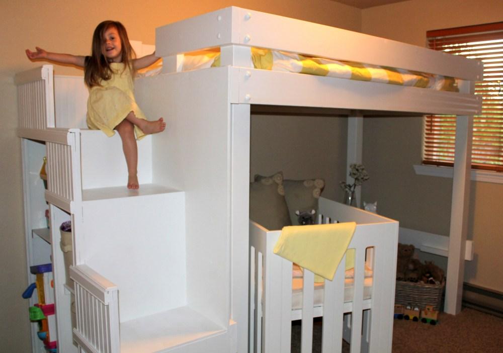 Loft Toddler Bed Plans