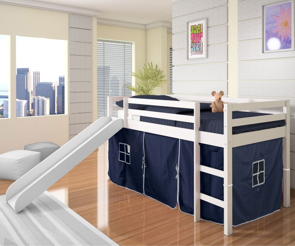 Loft Toddler Bed With Slide