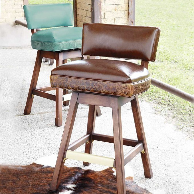 Low Back Counter Height Bar Stool