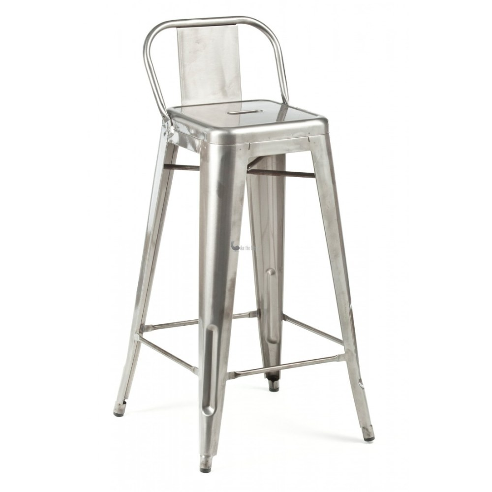 Low Back Metal Bar Stools