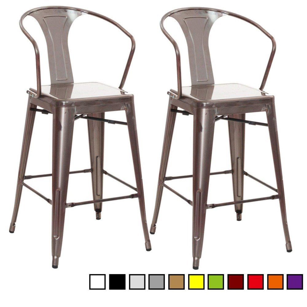 Low Back Outdoor Bar Stools
