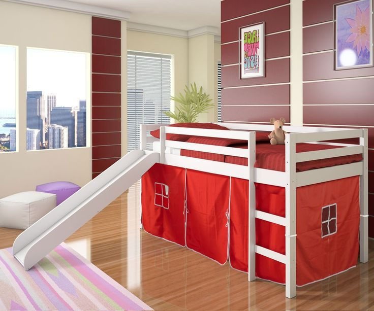 Low Loft Bed For Toddler