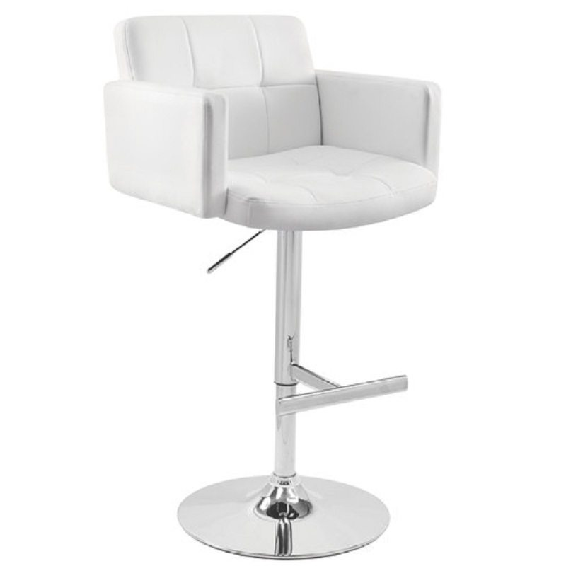 Lumisource Bar Stool White