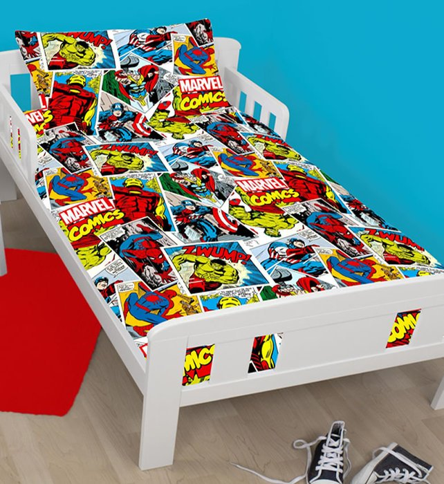 Marvel Comics Toddler Bedding