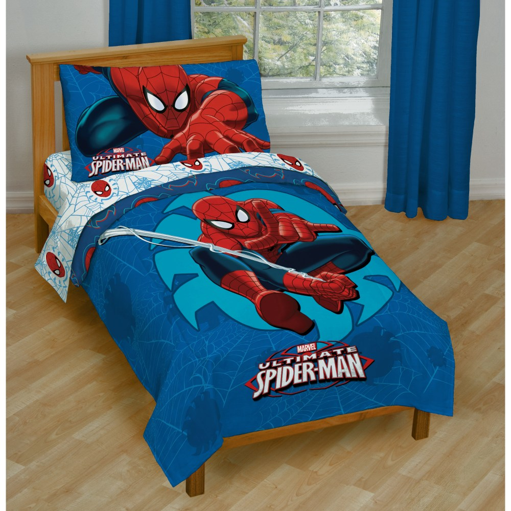 Marvel Spiderman Toddler Bedding Set