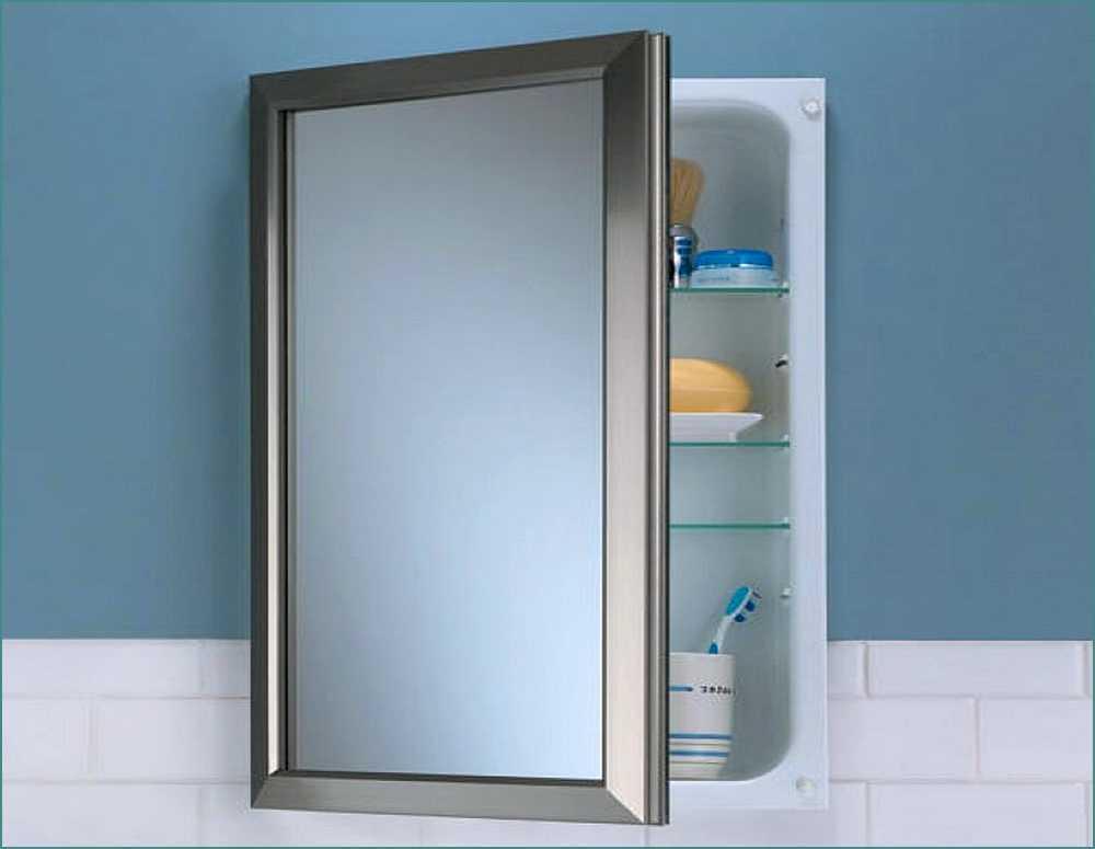 Medicine Cabinet Mirror Home Depot