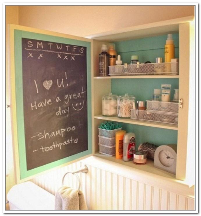 Medicine Cabinet Storage Ideas