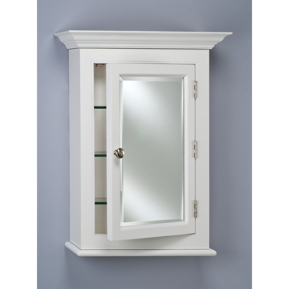 Medicine Cabinet White No Mirror