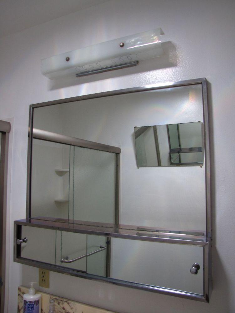 Medicine Cabinet With Lights On Side