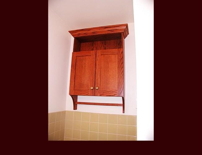 Medicine Cabinet With Towel Bar