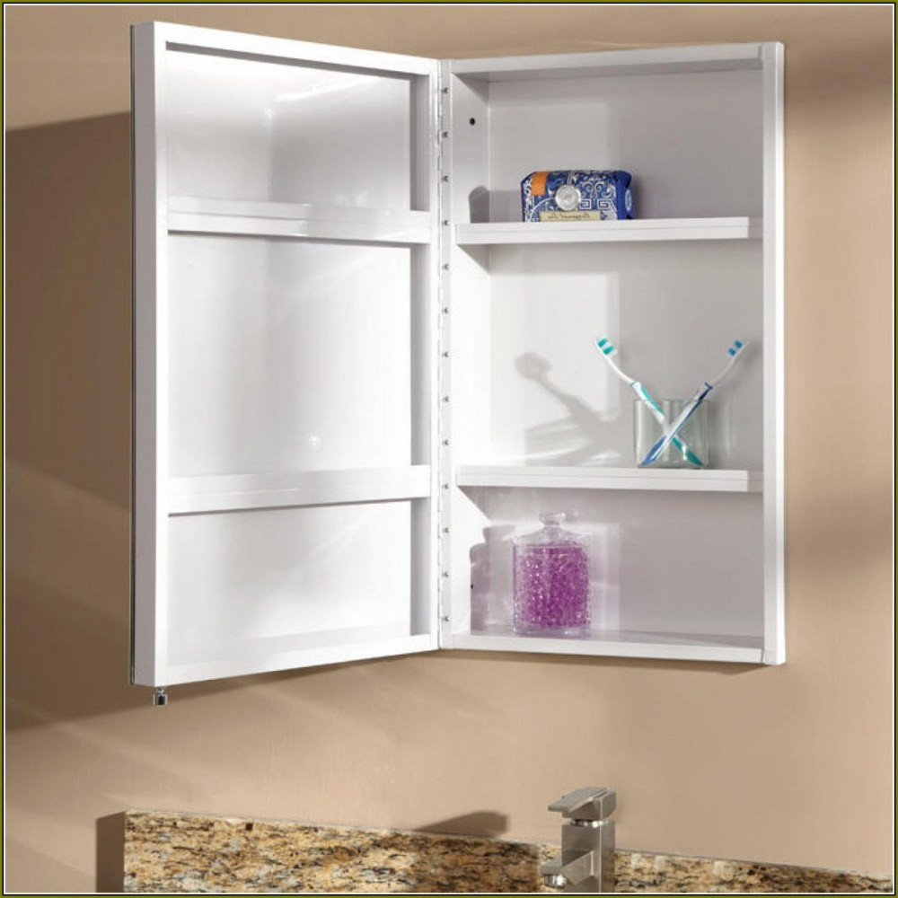 Medicine Cabinet Without Mirror Recessed