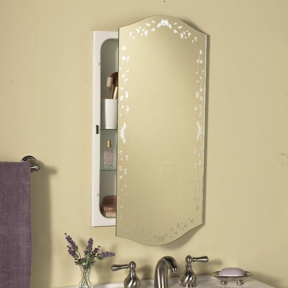Medicine Cabinets Mirrors Recessed