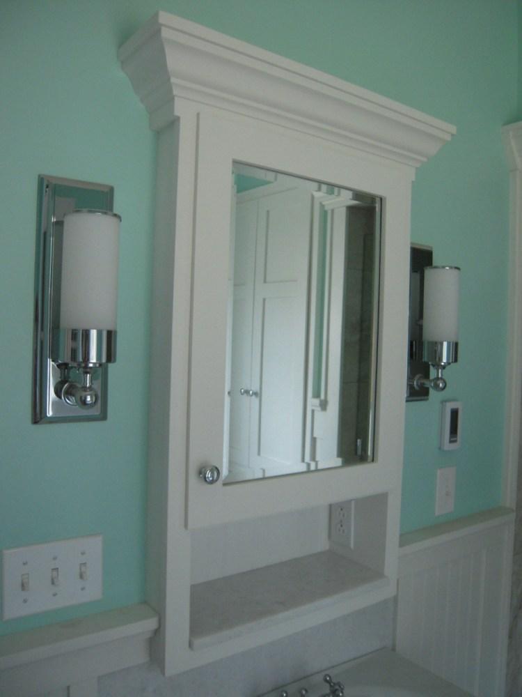 Medicine Cabinets Recessed No Mirror